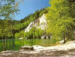 Pískovna - jezírko v Adršpašských skalách