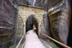 Vstup do skalního města-Prašná brána